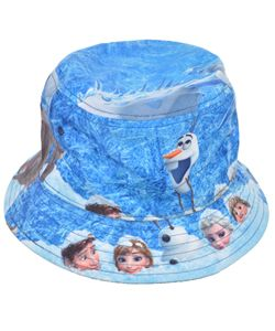"454972cea9d Disney Frozen ""Snowy Reversible"" Bucket Hat (Youth One Size)  9.99 Frozen  fans can add some cool to their outfit with this reversible bucket hat."