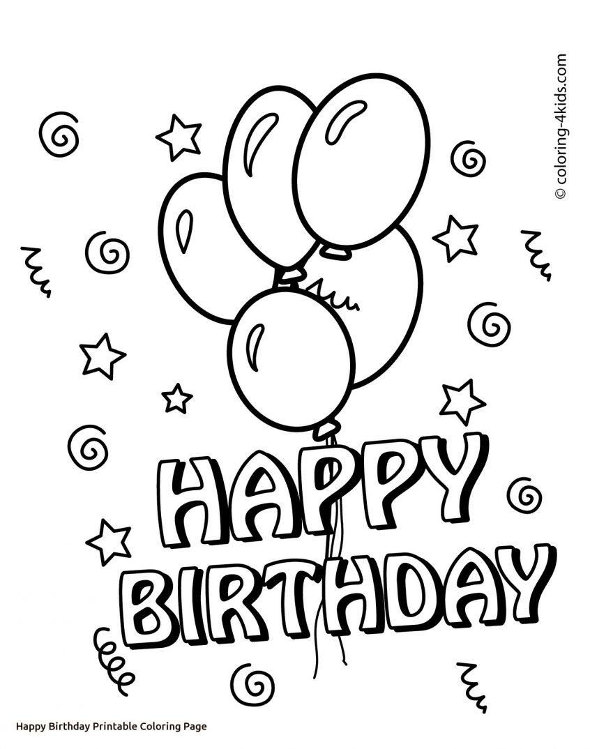 51 Printable Colouring Happy Birthday Cards Verjaardagsballonnen Kaart Ideeen Verjaardag Gelukkige Verjaardag Mama