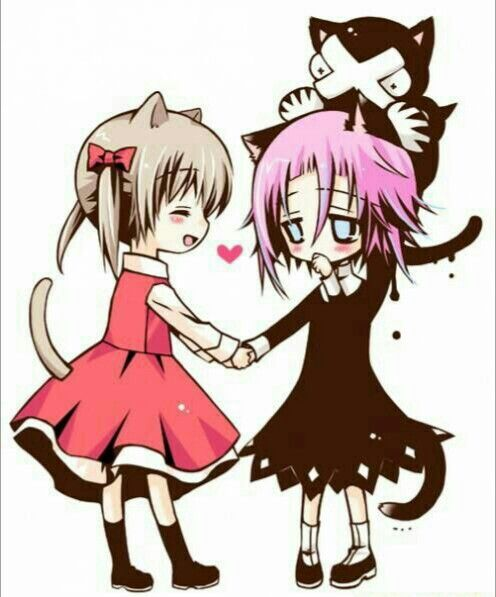 maka crona young childhood ragnarok cute chibi cat