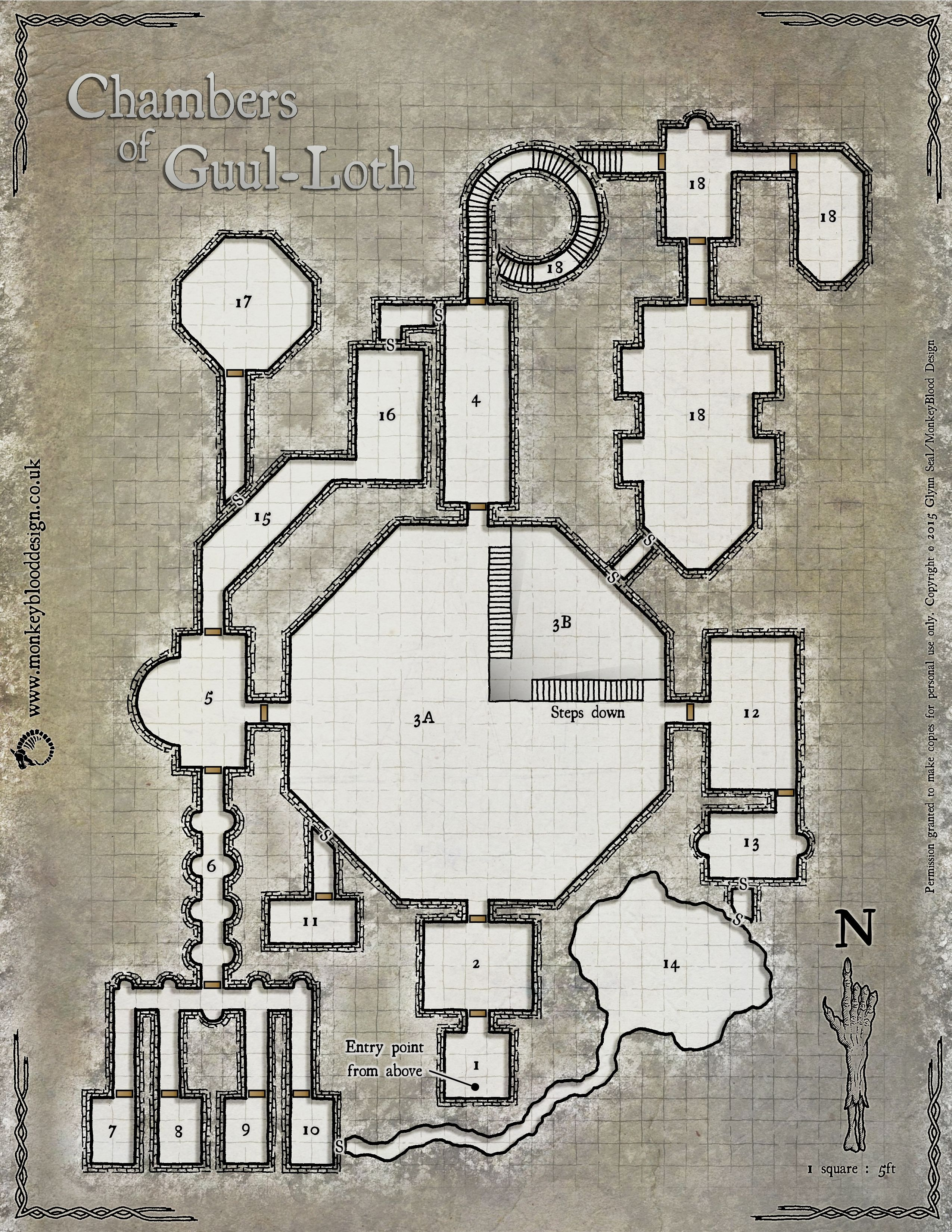 Pin by David McGuire on Gaming Maps in 2019 | Dungeon maps, Fantasy