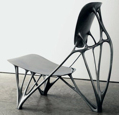 Industrial Design Bone Chair By Joris Laarman Biomorphic Biomorphisme Pinterest