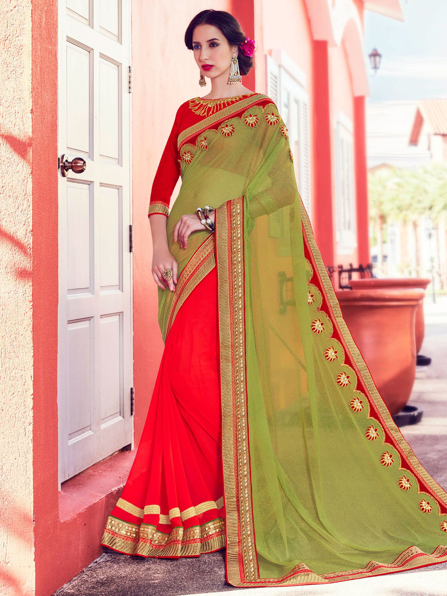 a897a05278a I found this amazing saree at Mirraw.  Sarees  SareesOnline  OnlineSarees   SareesShoppingOnline  OnlineSareeShopping  IndianSaree