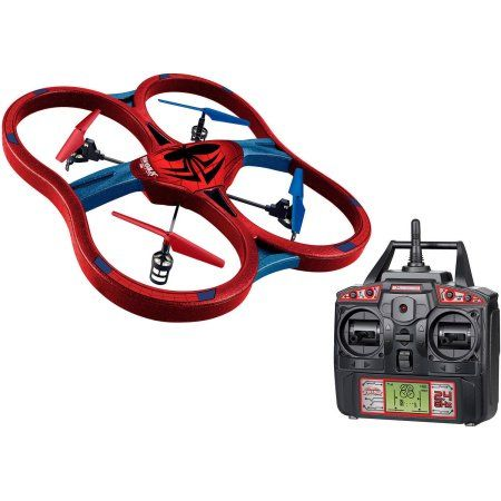 Marvel Spider-Man Super Drone 2.4GHz 4.5-Channel RC Drone, Red