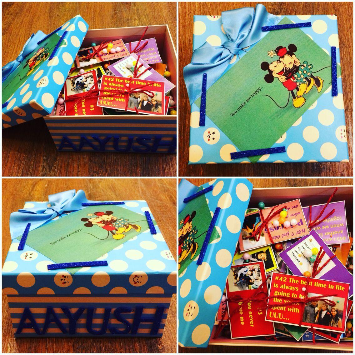 52 reasons of Loving You...gift box