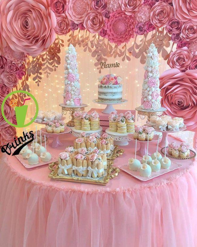 Decoraciones Baby Shower In 2019 Pinterest 13th Birthday Parties Baby Shower And Dessert T Birthday Parties Party Food Table Ideas 13th Birthday Parties