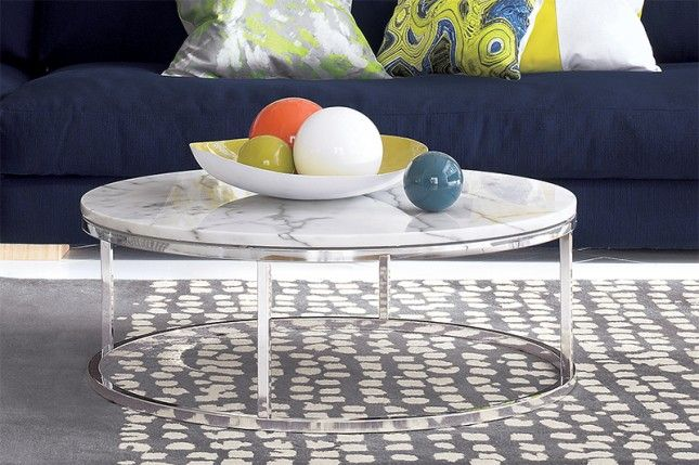 The 40 Most Beautiful Coffee Tables Ever Marble Top Coffee Table
