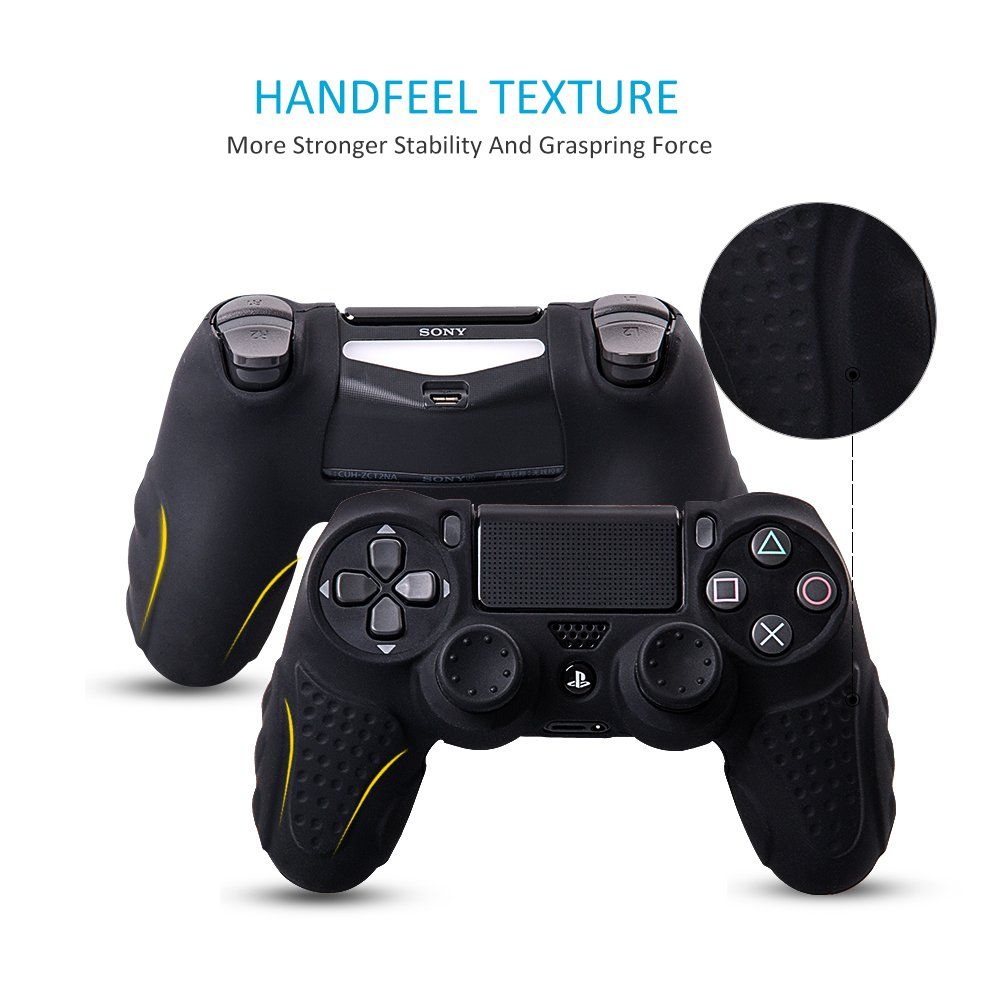 Chinfai Ps4 Controller Dualshock 4 Skin Grip Antislip Silicone
