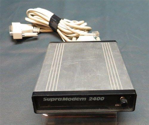 Vintage Supra Modem 2400