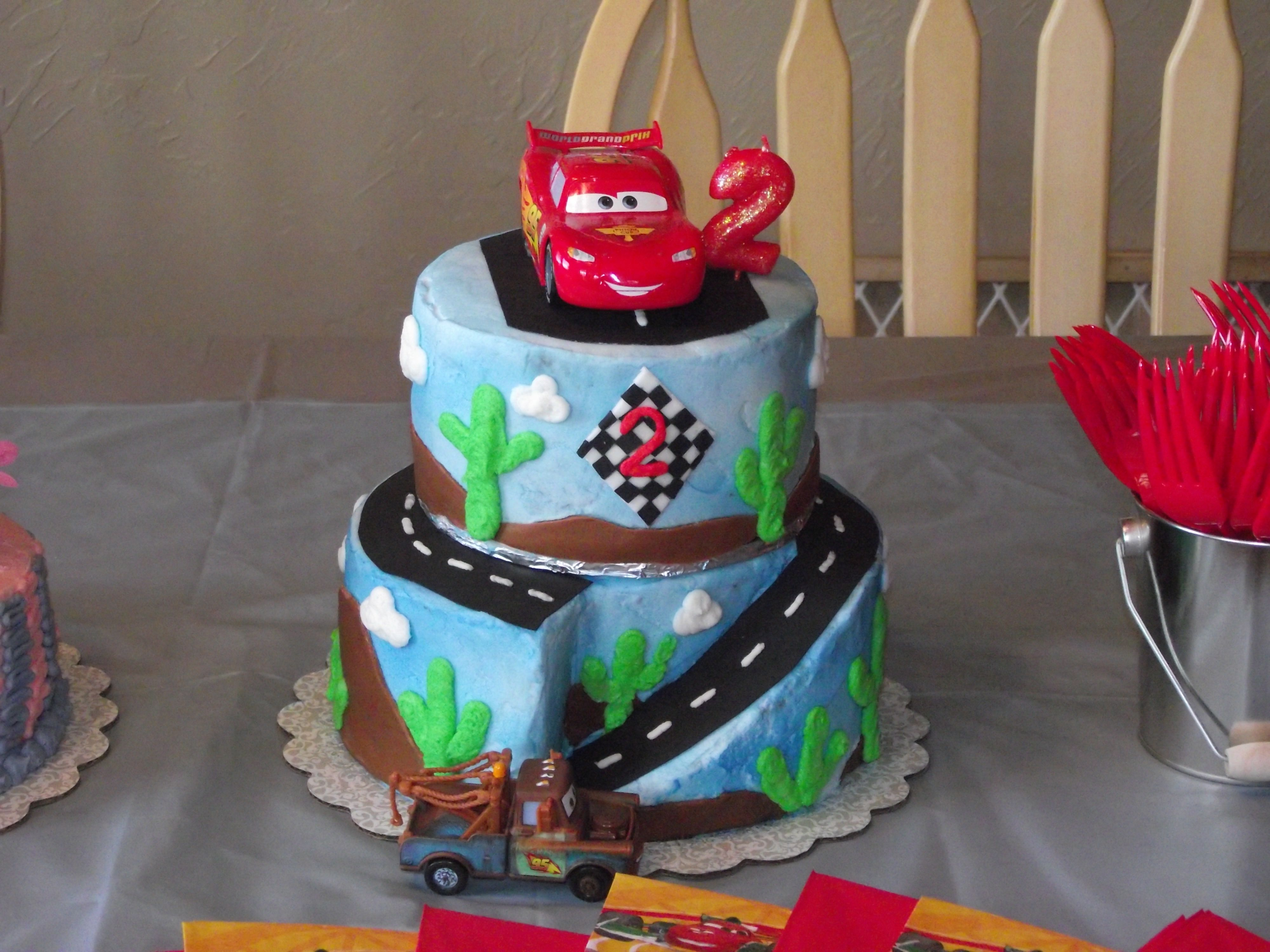 Pleasing My Little Boys 2Nd Birthday Cake Birthday Cake Kids Image Funny Birthday Cards Online Inifofree Goldxyz