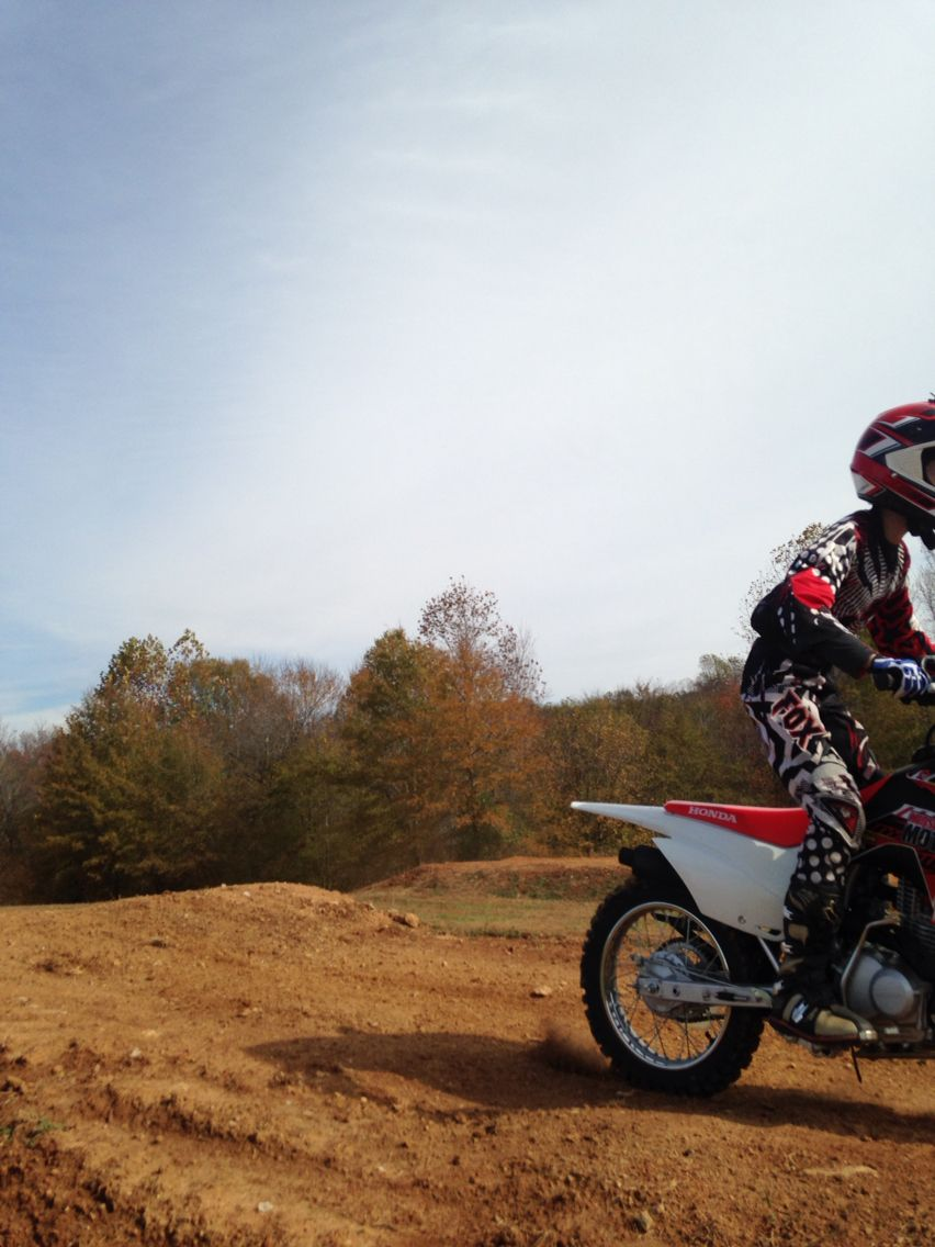 Me at motocross my dad is a amizing photographer