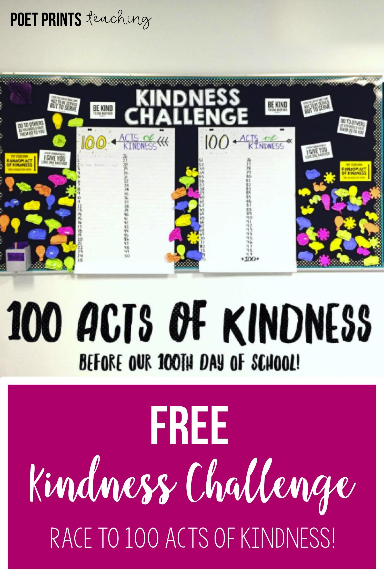 Kindness Lesson Free School Stuff Pinterest