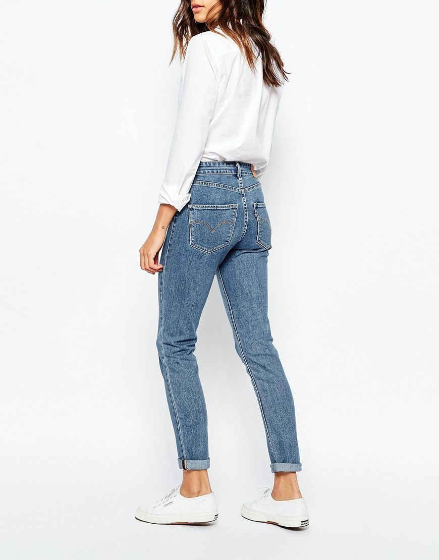 f7aca7814 Levis | Levis 721 High Rise Skinny Jeans at ASOS | STYLE 2016 in ...