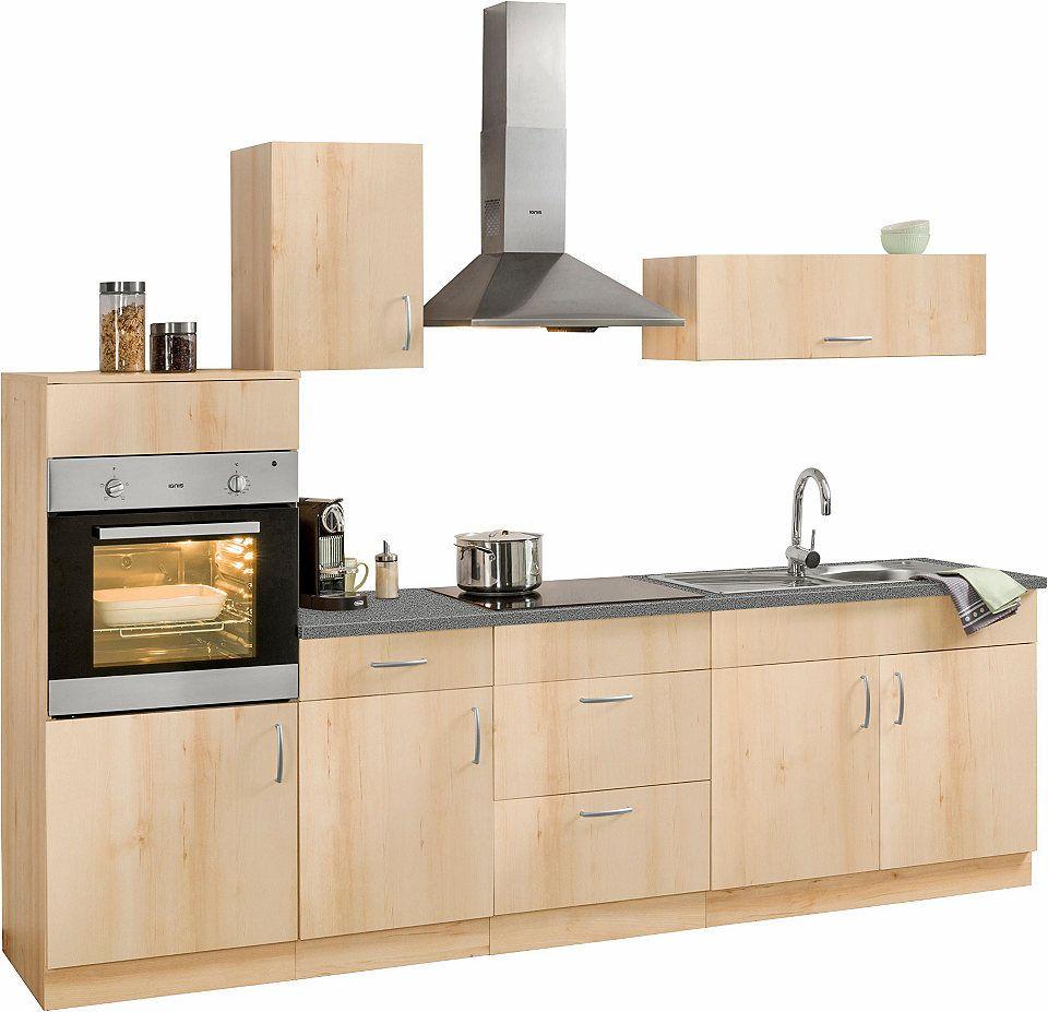 Küchenzeile »Brilon« mit EGeräten, Breite 270 cm Jetzt