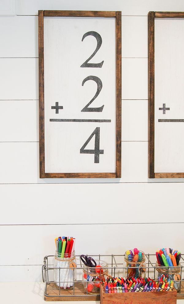 A Diy Tutorial For Creating Handmade Flash Card Wall Art Fraction Of The Price Www Littlehouseoffour