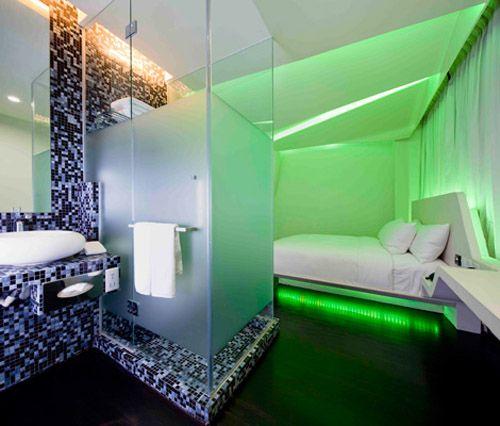 Open Bathroom Hotel Room Luxury hotel design, Wanderlust