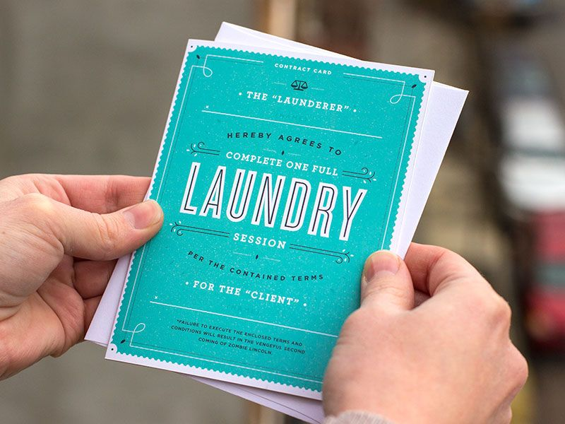 Laundry Contract Graphic design layouts, Design layouts and - contract layouts
