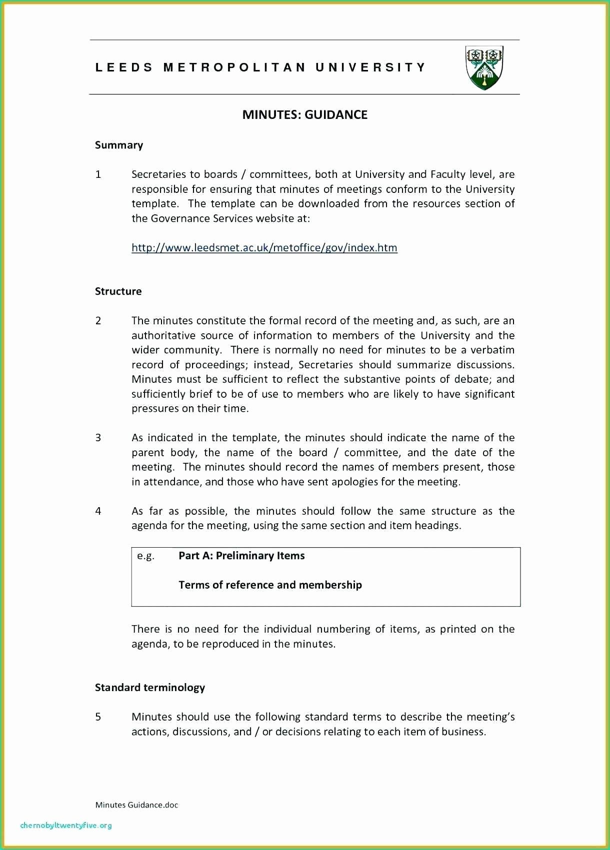 Minutes Of Meetings Template Word New Hoa Minutes Template