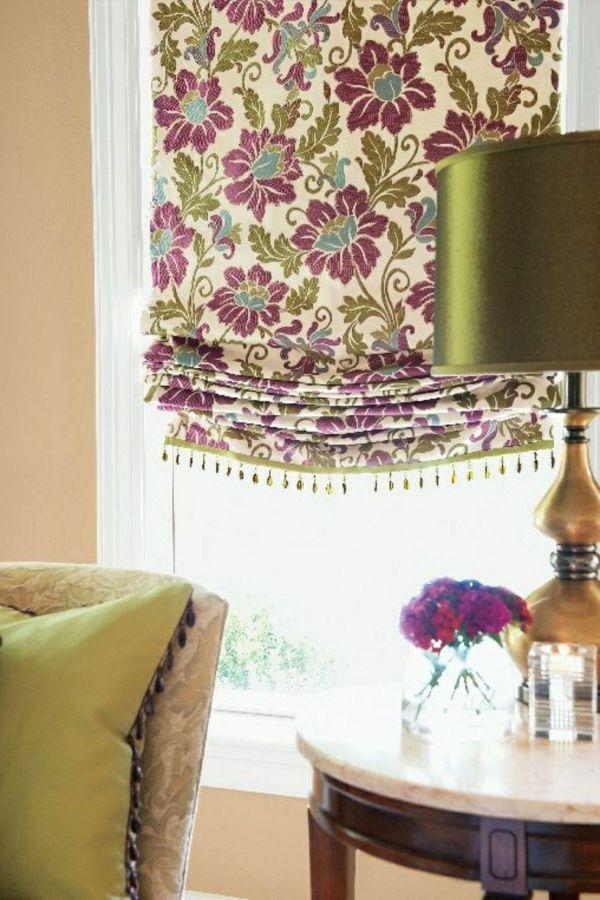 tolles muster raffrollo wohnzimmer ✦⊱Little details for my house - Raffrollo Für Wohnzimmer