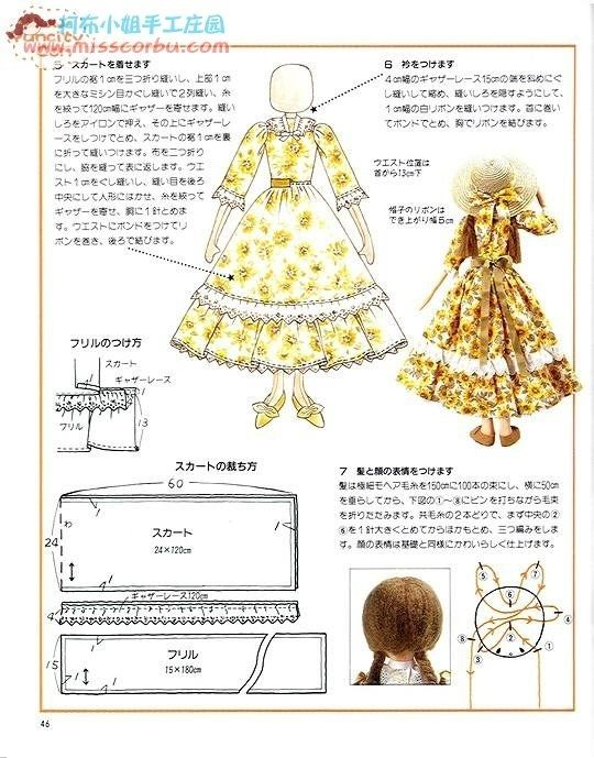 Mimin Dolls: revista completa- soft dolls   Muñecas   Pinterest ...