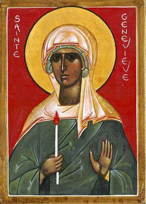 Image result for st genevieve icon