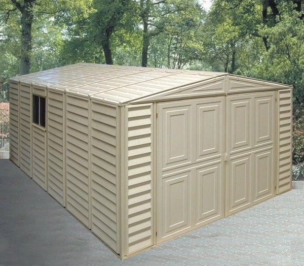 Duramax 10x15 5 Vinyl Garage W Foundation Garazh