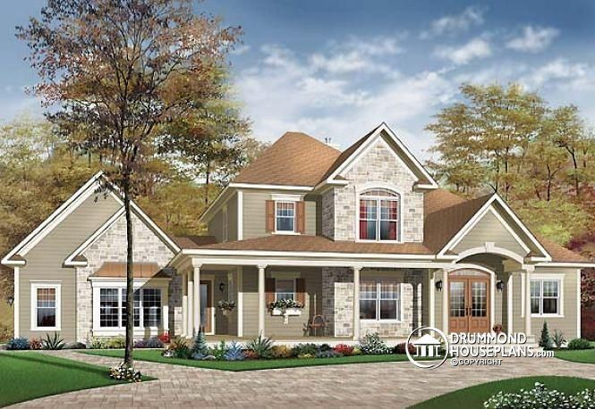 W2671 - 3 to 4 bedroom Ranch style home with open floor plan and 3 on nice house roofs, nice house windows, nice house stairs, nice house decks, nice house rooms,