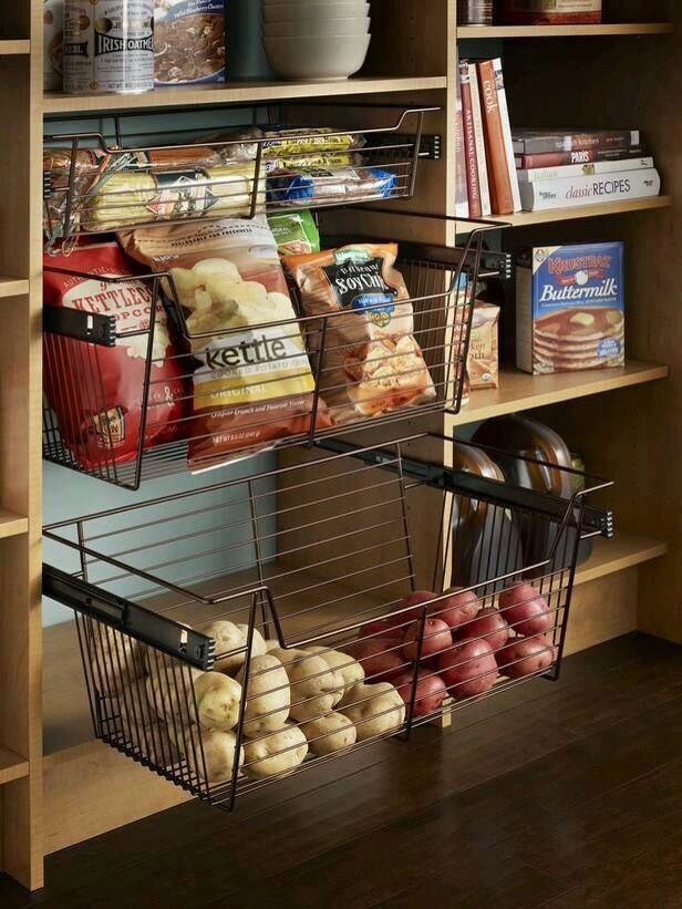 Kitchen U2022 Pantry U2022 Potato Drawer