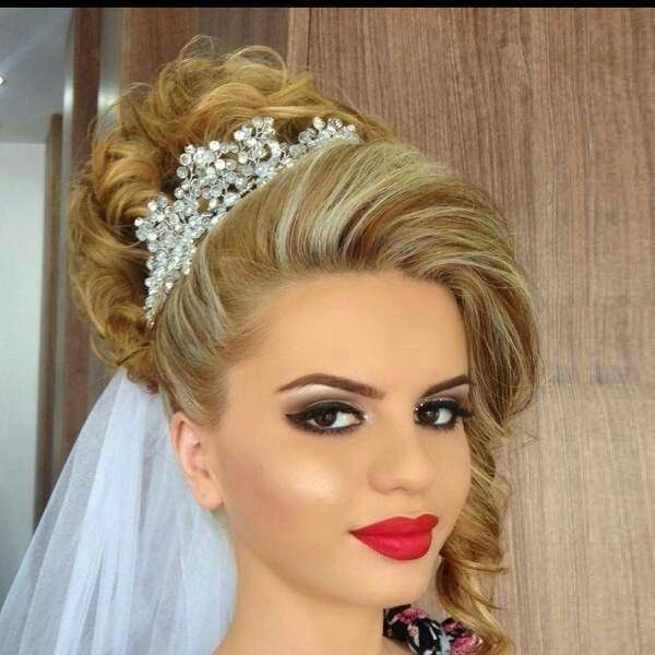 Bridal Hair, Thick Hair Styles