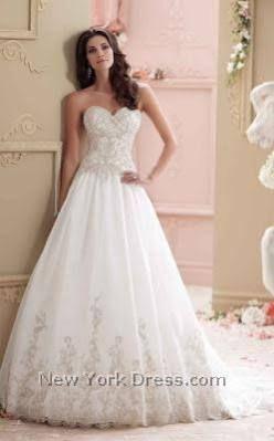 david tutera wedding dress - Google Search