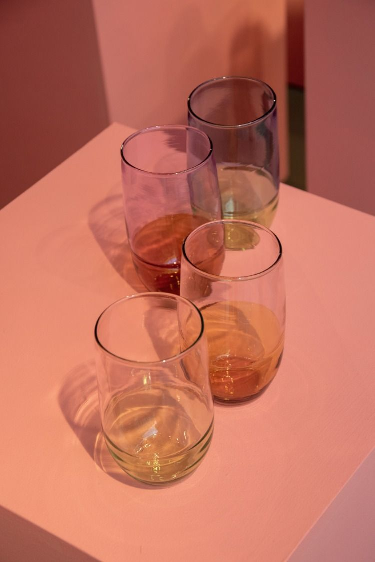Improvised Gestures London Craft Week 20 Scp Life In 2020 Stemless Wine Glass Glass Glassware