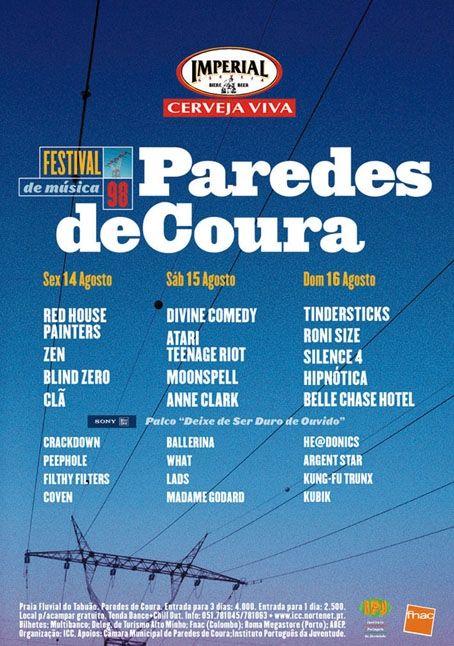 Paredes De Coura 1998 Com Imagens Festivais Vida Espiritual