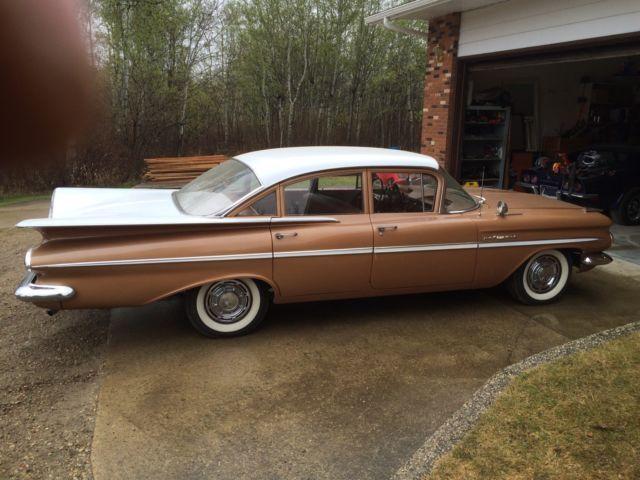1959 Chevrolet Bel Air Sedan 1959 Chevy Impala American Classic