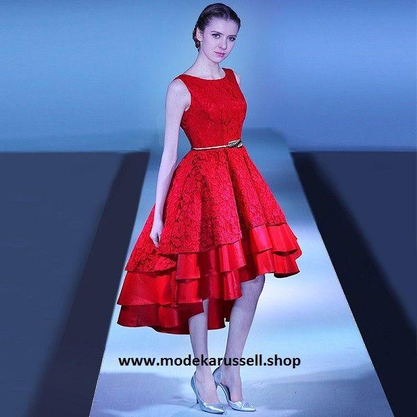 Rote kleider wadenlang