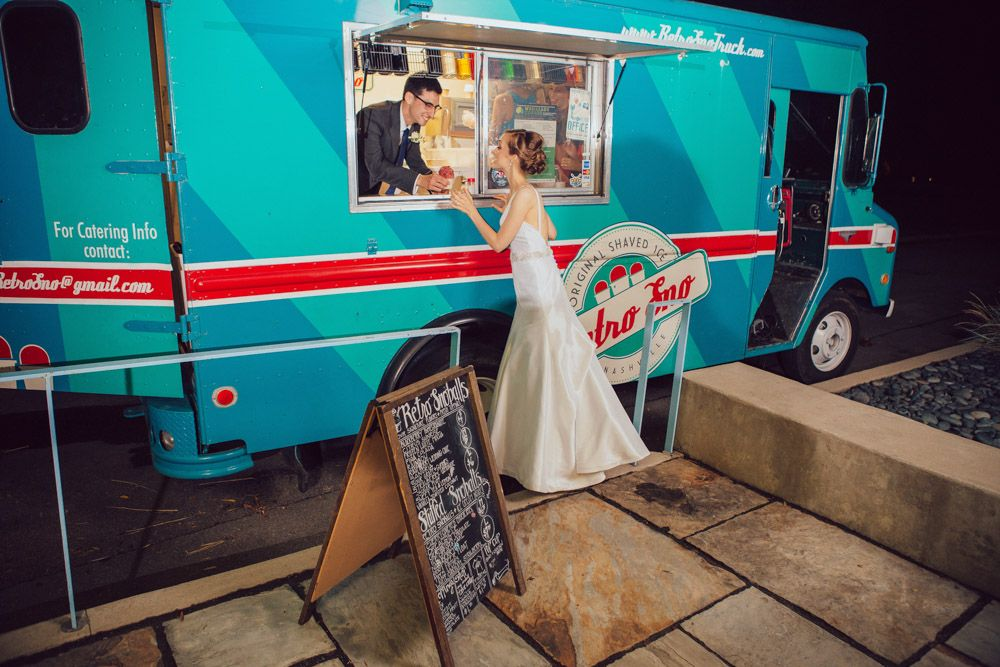 Great food truck service. Courtesy IBW Photography