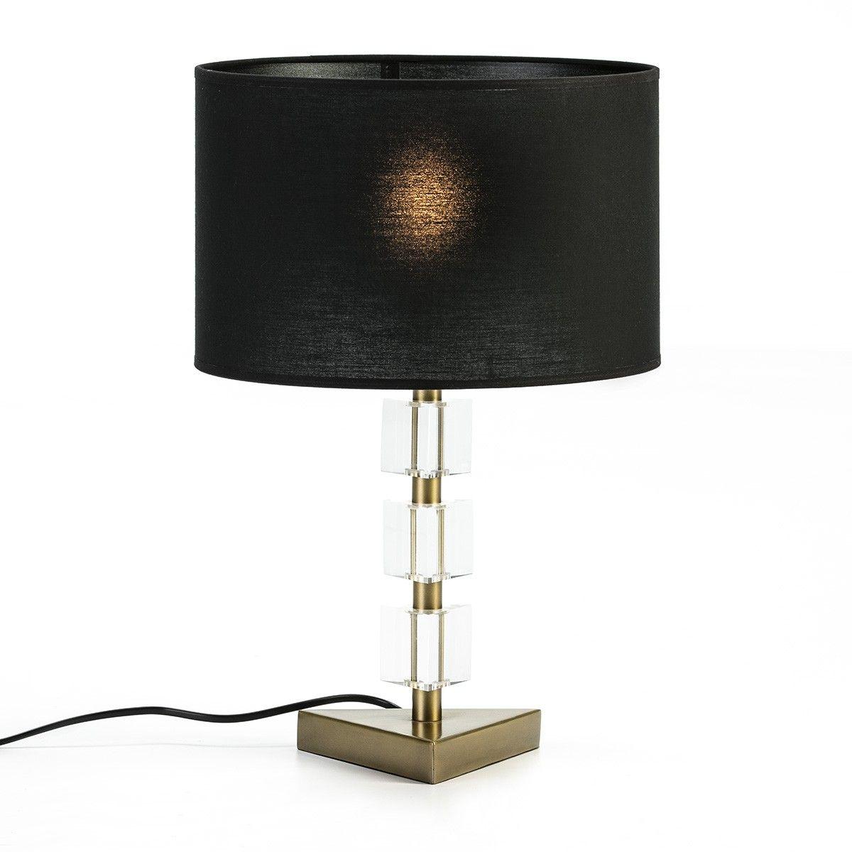 Thai Mobilier Pied De Lampe En Acrylique Et Metal Dore Vego H 30 Cm Lestendances Fr En 2020 Lampe Sur Pied Lampe Acrylique