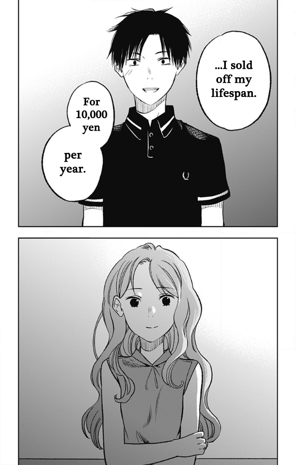 3 manga JAPAN NEW Jumyou wo Kaitotte Moratta Ichimanen de Ichinen ni Tsuki
