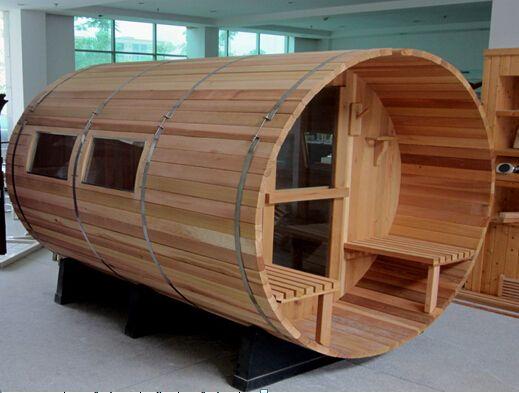 Outdoor barrel garden sauna room casa saunas ba o - Construccion de saunas ...