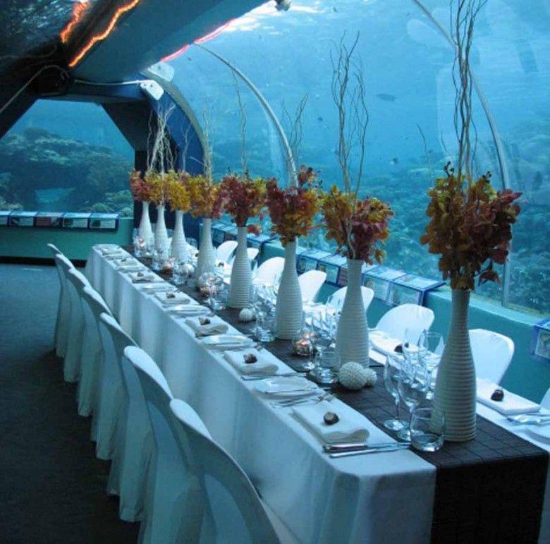 Coral Reef Wedding Centerpieces
