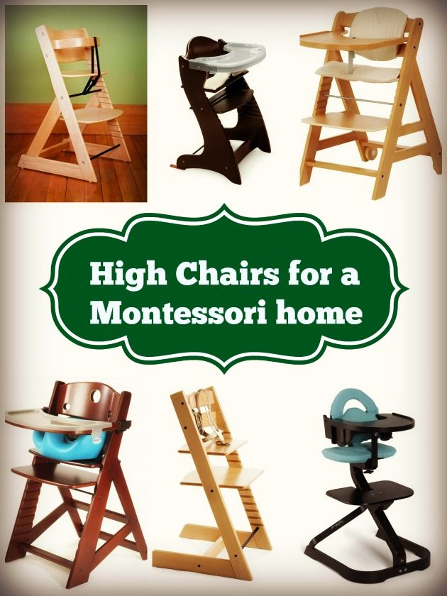 Great Montessori High Chairs
