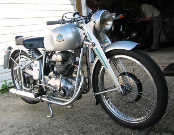 1950 Mondial 125cc Ohv Sport Cafe Racer Build Trike Cafe Racer