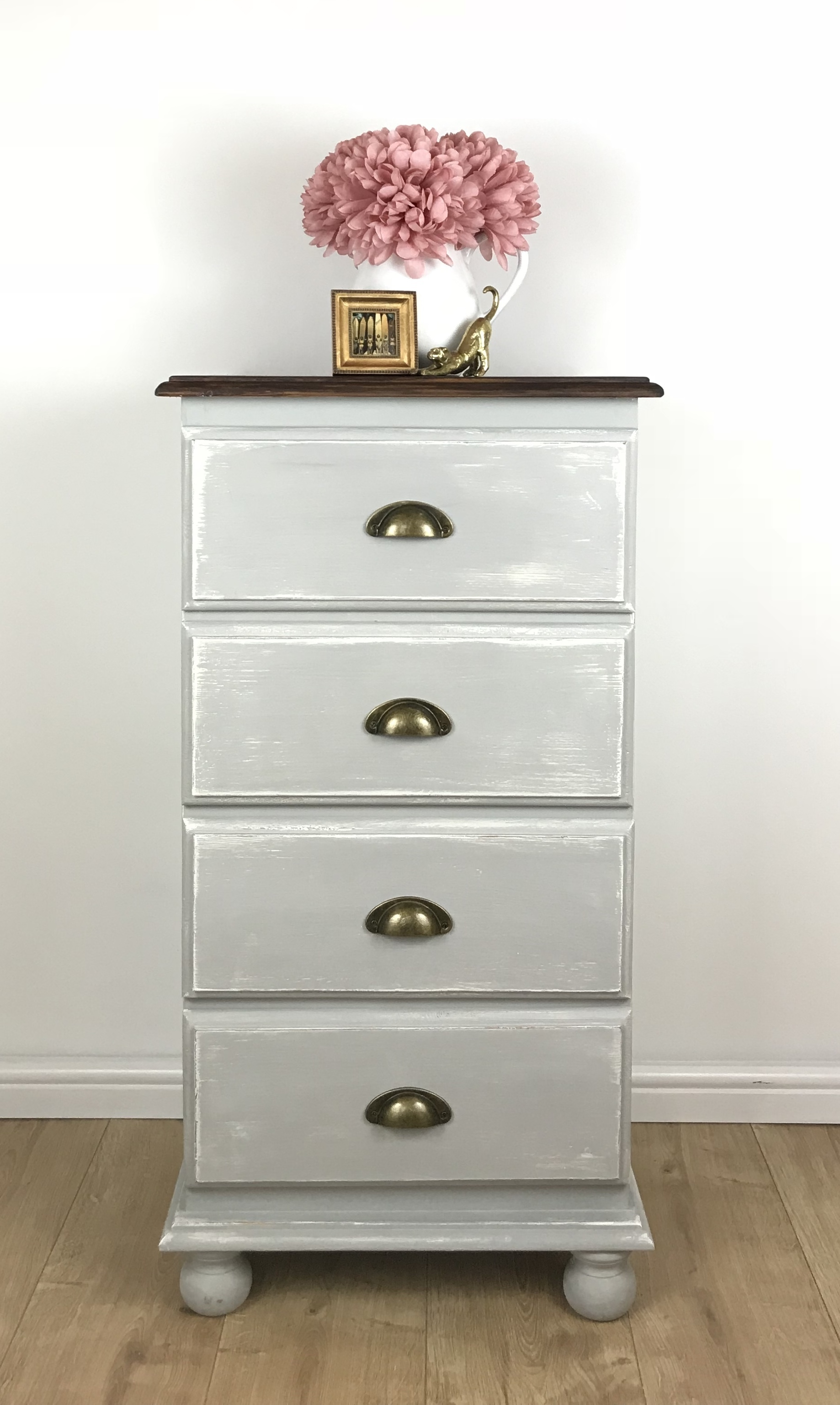 Buy White Tall Chest Of Drawers Tallboy 6 Drawer Cabinet Dresser Bedroom Storage White Tall Chest Bedroom Storage Chest Dresser Decor