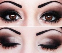 LOVE this simple smoky eye look, could've been less harsh on the brows but other than that, I'm obsessed!