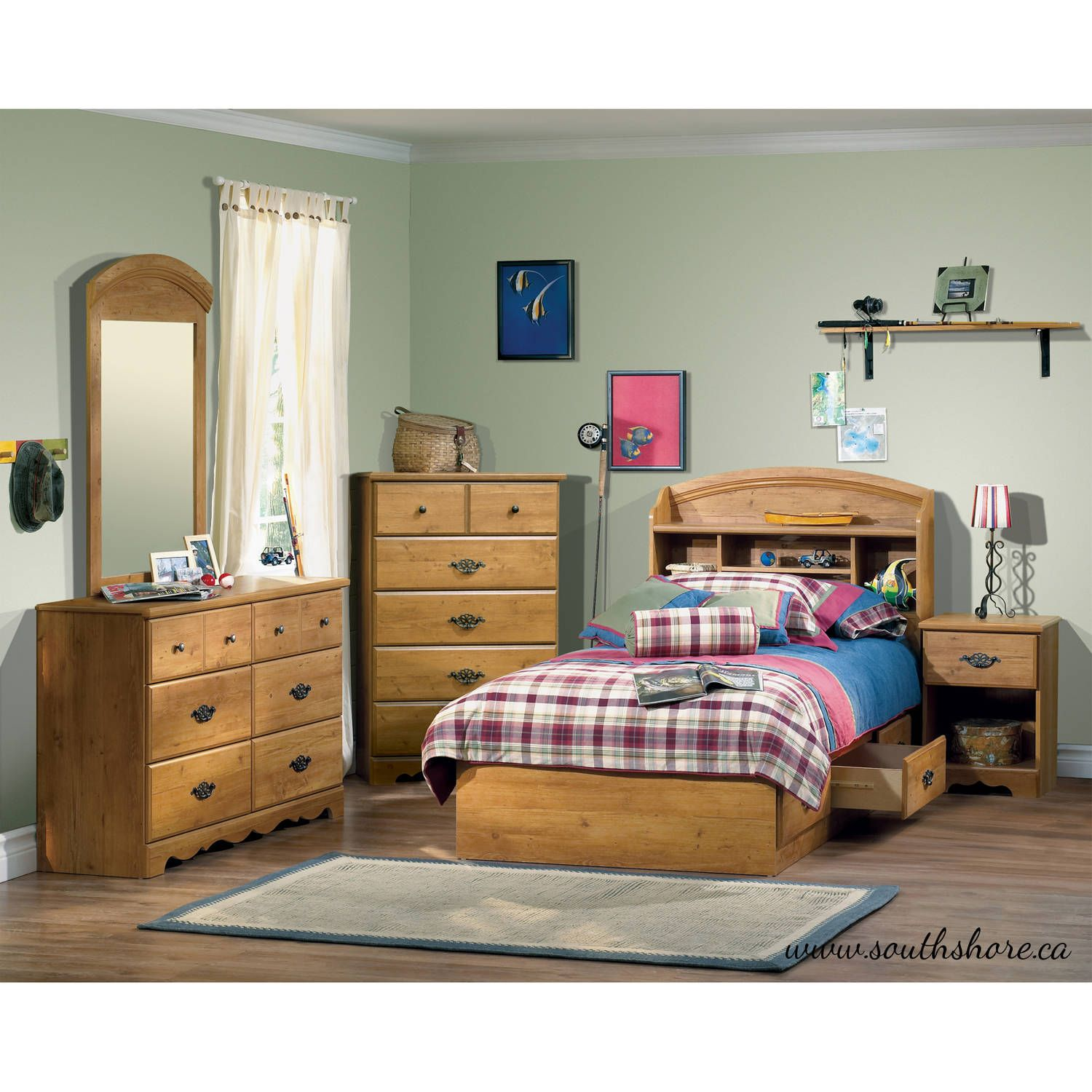 Stunning Youth Bedroom Sets Cool Kidsu5 Furniture - Walmart.com