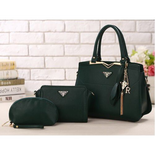 75aa55edc8ba PRADA Handbag set is available on sale for a limited period. Retail price  USD 799 Sale price USD 239 including shipping. Hurry only few sets left  #pradabags ...