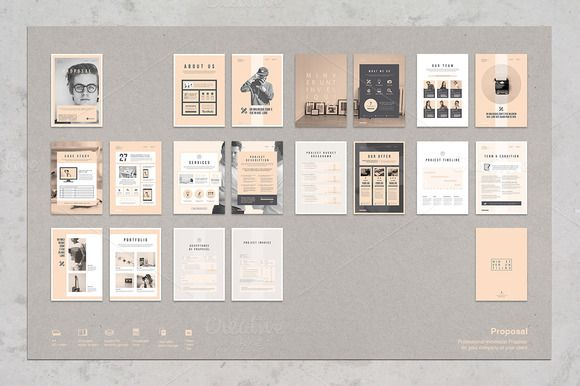 Cool Proposal Templates Pinterest Proposals And Template