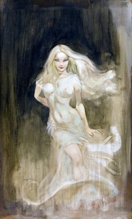 gameraboy:  Faith, concept art for an un-made Dracula movie by...