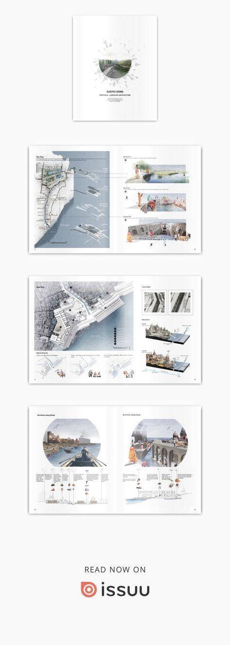 xuefei dong landscape architecture portfolio
