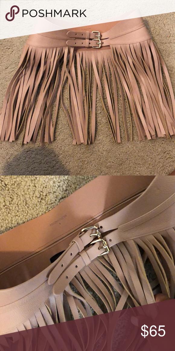 d0ceffb6af Bcbg fringe belt Pink fringe belt worn once ! BCBGMaxAzria Accessories Belts