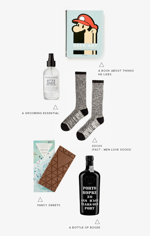 last minute valentines gift ideas for your guy | almost makes perfect