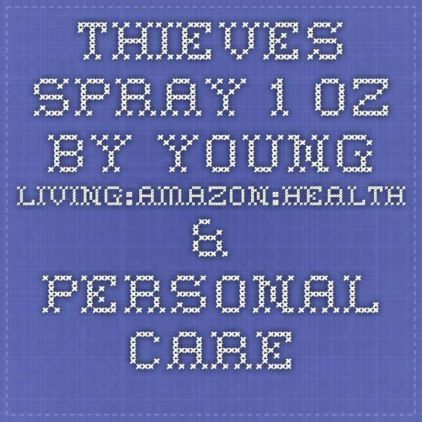 Thieves Spray - 1 oz by Young Living:Amazon:Health & Personal Care